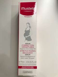 Mustela stretch marks recovery serum