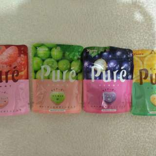 日本KANRO Pure鮮食軟糖