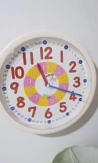 Learn the time real clock