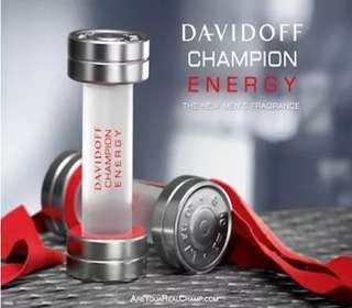 DAVIDOFF CHAMPION ENERGY for men 50ml EDT Authentic