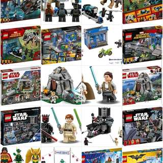 LEGO Sets for Sale Original New Sealed