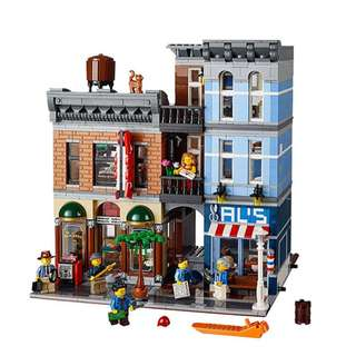 LEPIN 15011 DETECTIVES OFFICE