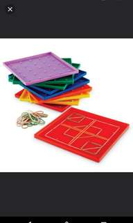 [FreeMail] Learning Resources GeoBoard $6 each