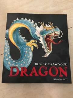 How to draw your dragon tattoo design book