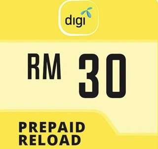 Digi Prepaid Reload Card