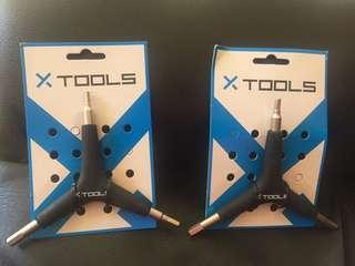 X Tools 3 Way Allen Key Wrench 4,5,6mm