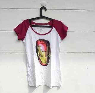Official Marvel Iron Man 3 Tee