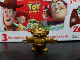 Disney pixar toy story - alien (special gold edition)