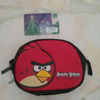 """Pouch """"angry bird"""""""