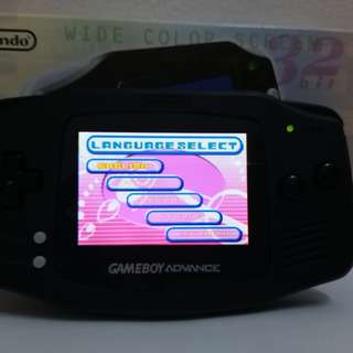 Refurbish Gameboy Advance with Extra Brightness, Loud sound, and Rechargeable Lipo battery