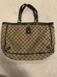 Gucci Monogram Abbey Tote