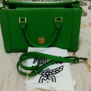 Mcm Green Bag