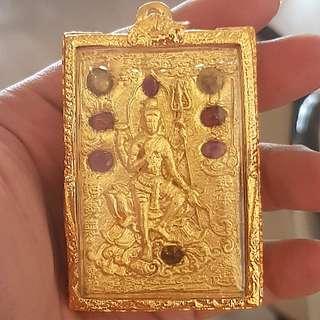 Kruba Krissana Numlerk Shiva Amulet