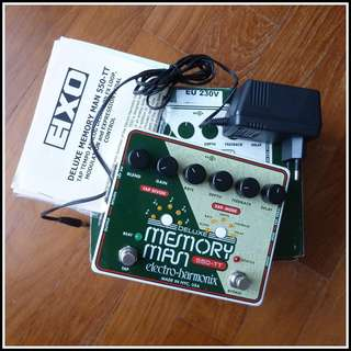 Electro-Harmonix Deluxe Memory Man 550-TT Analog Delay Pedal
