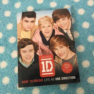 One Direction Biography Books Dare to dream