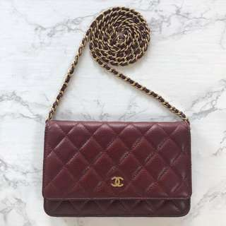 Authentic Chanel Classic WOC