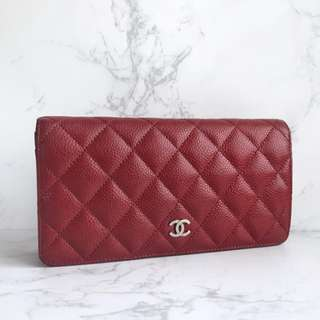 Authentic Chanel Classic Bi Fold Wallet
