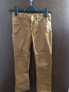H&M kids brown trousers/pants (unisex)