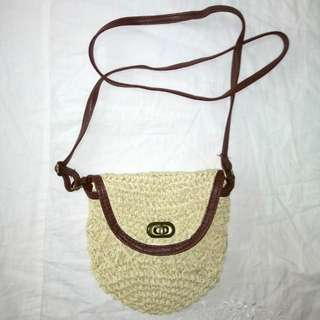 rattan bag inspired /abaca bag