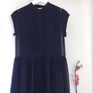 "Gorman ""Like a Prayer"" Navy Dress"