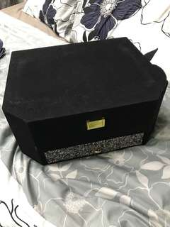 Velvet storage box or for hantaran