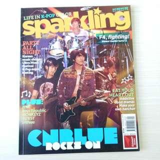 Sparkling mag (Cnblue & jyj) Summer 2013