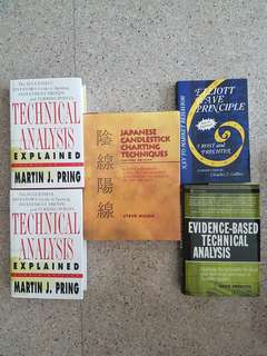 Technical Analysis and Trading books