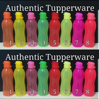 Authentic Tupperware  Eco Bottle 500ml Flip Top  《Retail Price S$10.50/Piece》no.6 sold out tupper