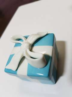 Tiffany Porcelain Ring Box
