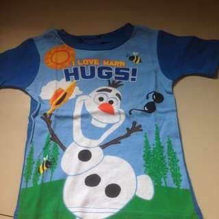 Disney Olaf, Elmo And Thomas