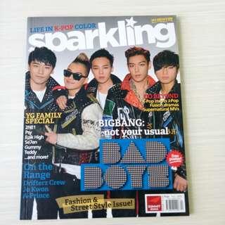 Sparkling mag (Bigbang & Dara Park) Fall 2012