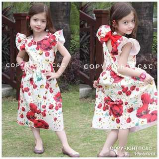 🌺MOM & DAUGHTER DOLCE DRESS