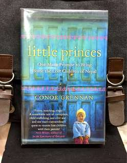《New Book Condition + Hardcover Edition + Inspiring & True Story of The Battle To Save The Lost Children From Child Trafficking In Nepal》Conor Greennan - LITTLE PRINCESS : One Man's Promise to Bring Home the Lost Children of Nepal