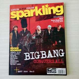 Sparkling mag ( Bigbang & Ikon) Fall 2015