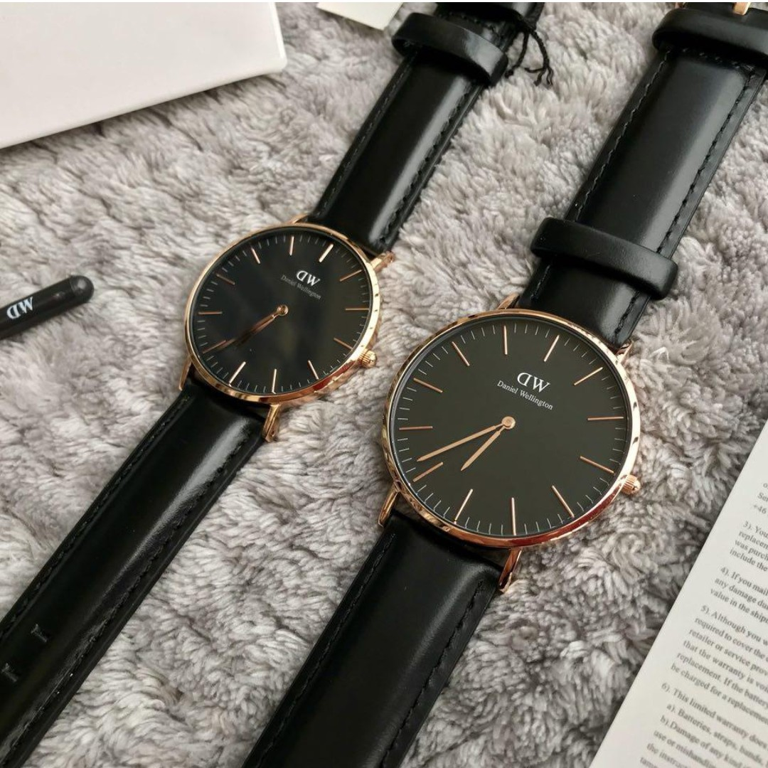 6c4ffbbd7de52 100% ORIGINAL READY STOCK DANIEL WELLINGTON CLASSIC BLACK SHEFFIELD ...