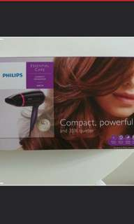 BN Philips Compact Hairdryer 1600W BHD002