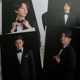 super junior ss7 postcard