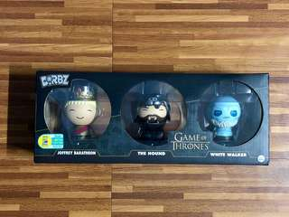 Game of Thrones Jofrey, Hound, and Walker 3-Pack Summer Convention Exclusive