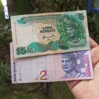 RM2 & RM5 OLD NOTES