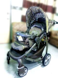 Preloved Graco Travel System Stroller