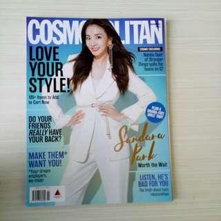 Cosmopolitan (Dara Park cover) November 2017