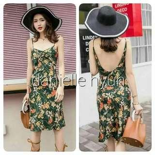 🔴Floral  summer dress