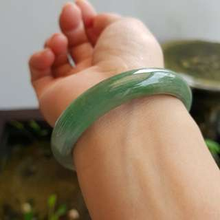 New Jade bangle Green