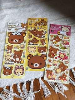 Rilakkuma Stickers