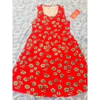 H&M kids dress (red)