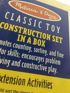 Melissa & Doug Construction Set
