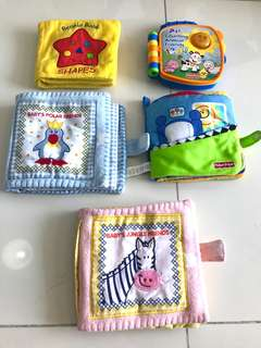 Baby & Toddler Cloth & Electronic Books