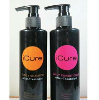 Shampo and Conditioner Icure after treatment