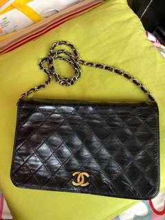 Chanel woc vintage single flap