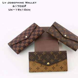LOUIS VUITTON Josephine Wallet 61702